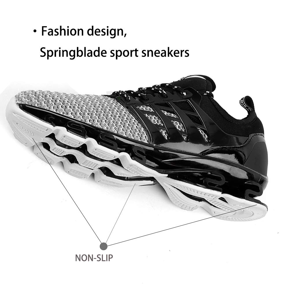 aadd3050291bd SKDOIUL Springblade Sport Running Shoes for Mens Mesh Breathable Trail  Runners Fashion Sneakers