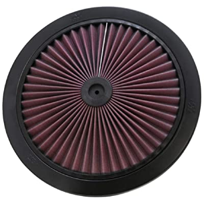 K&N X-Stream Top Filter: High Performance, Premium, Washable, Replacement Engine Filter: Filter Height: 1 In, Shape: Round Lid, 66-1401: Automotive