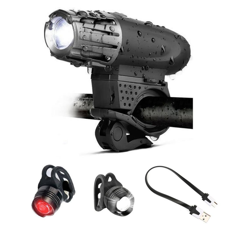 30cb0a9d01 Rawdah USB recargable de bicicletas LED frontal frontal frontal de  bicicleta brillante 1 faro + 2. Erica Hombres Butt Lifter Ropa Interior ...