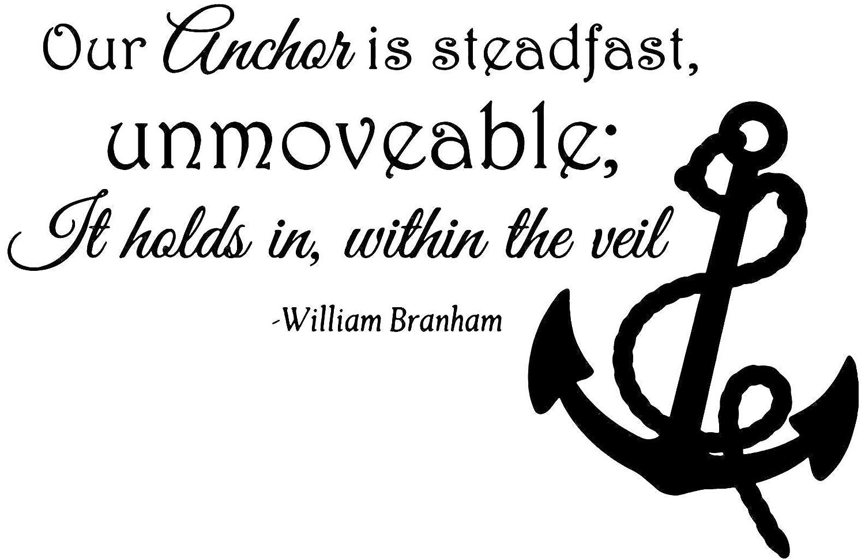 Amazon.com: Omega William Branham - Our Anchor is Steadfast ...