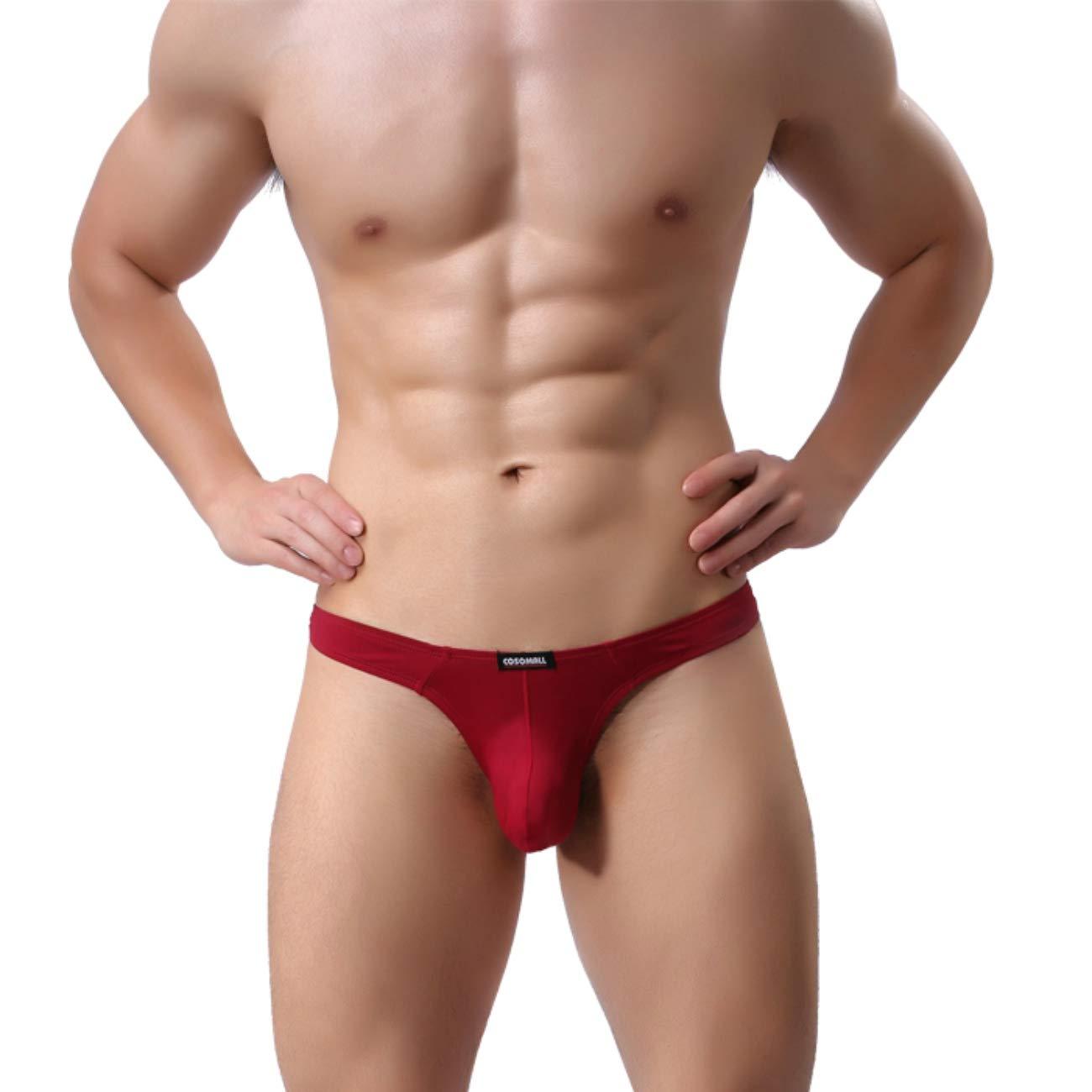 MuscleMate Premium Quality Men's Thong G-String, Men's Sport Underwear Comfort