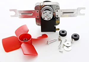 HASMX 482731 Refrigerator Evaporator Freezer Fan Motor for Whirlpool Kenmore Sears AP3110929 0056721, 0056801, 1100473, 1100474, 1100992, 1105608, 1105609, 14210061, 14218828, 14218831, 2154419