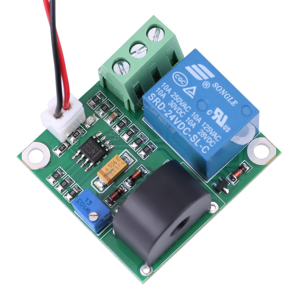 AC Current Detection Module 0-10A Switch On-off Output Current Sensor Module by Walfront (Image #6)