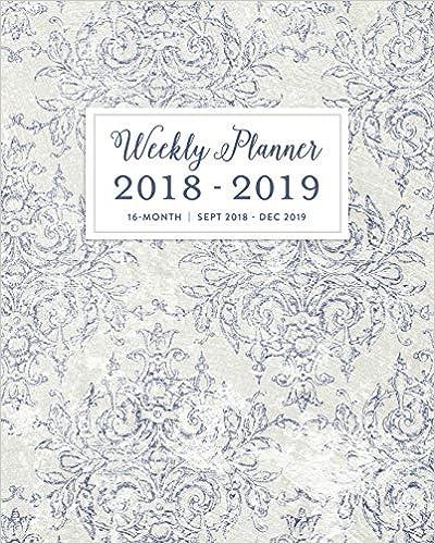 Uc Calendar 2019-16 Weekly Planner 2018   2019, 16 Month Sept 2018   Dec 2019: Vintage