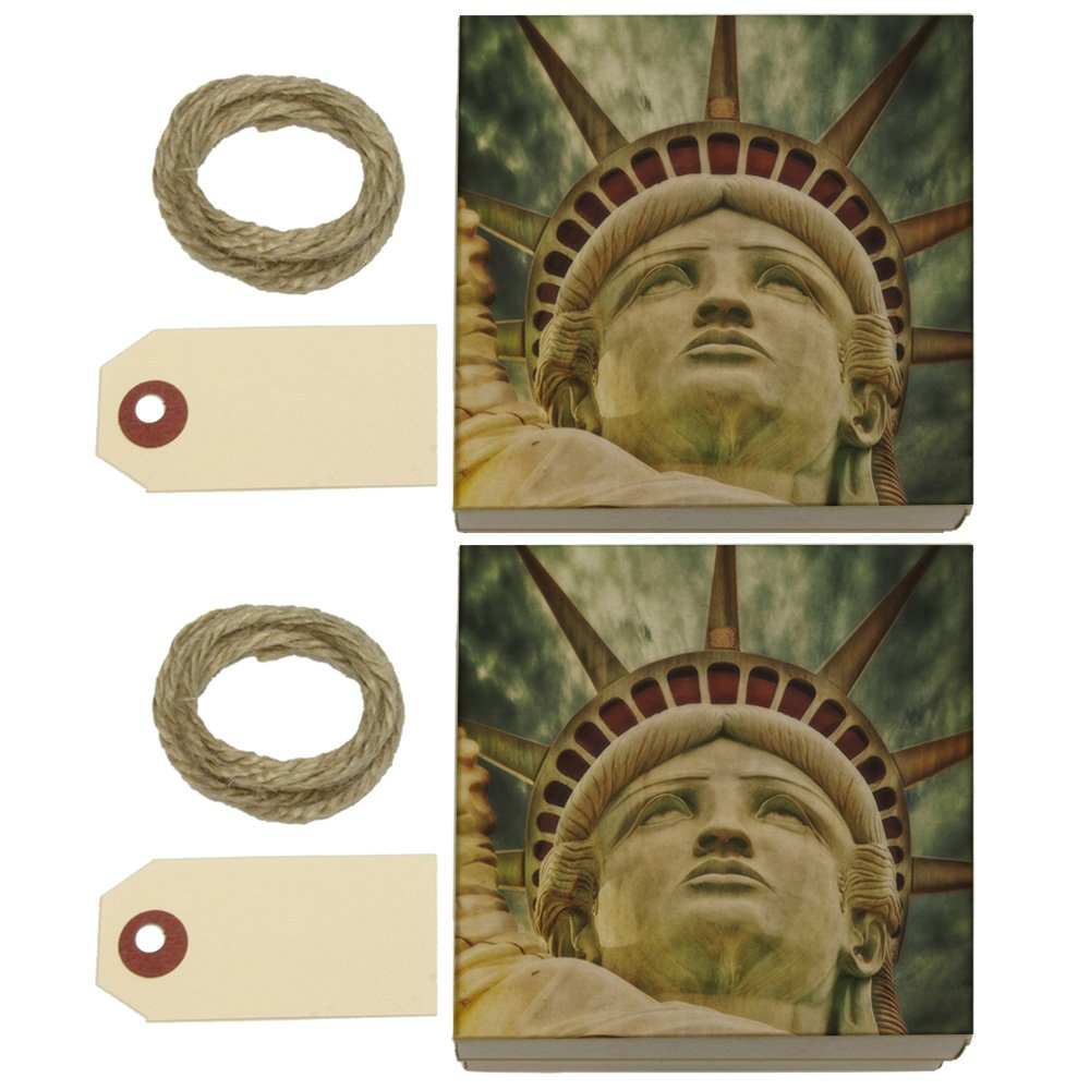 Liberty Is Lovely Lady >> Amazon Com Lovely Lady Liberty Kraft Gift Boxes Set Of 2 Arts