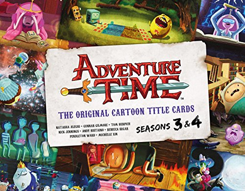 Adventure Time: The Original Cartoon Title Cards (Vol 2): The Original Cartoon Title Cards Seasons 3 & 4 by Titan Books