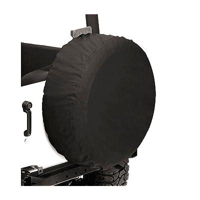 "Bestop 6103535 Black Diamond Custom Fit Tire Cover - 35""x14"": Automotive"