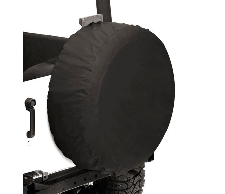 12 deep 12 deep Bestop 61032-35 Black Diamond Tire Cover for tires 32 diameter