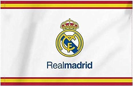 Bandera del Real Madrid 150X100CM (ESPAÑA): Amazon.es: Deportes y aire libre