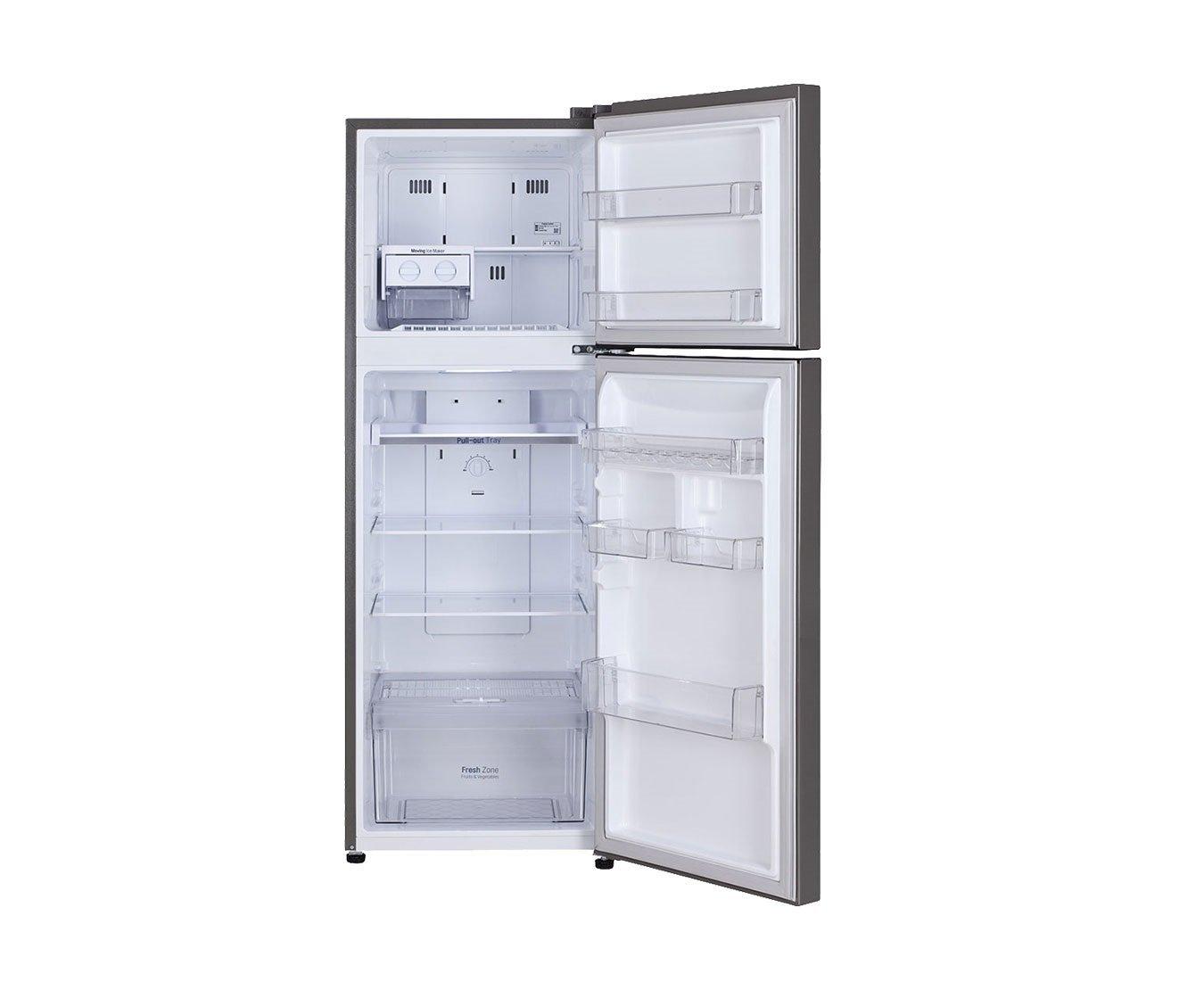 LG 255 L 3 Star Frost Free Double Door Refrigerator (GL A282SPZL, Shiny  Steel): Amazon.in: Home U0026 Kitchen