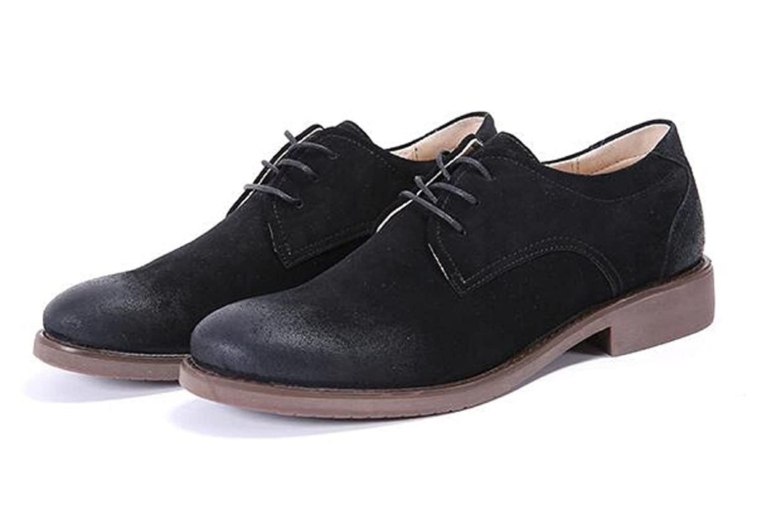 Fengxinzi 4 Color US Size 6-13 Suede Leather Mens Dress Formal Oxfords Ankle Boots Shoes