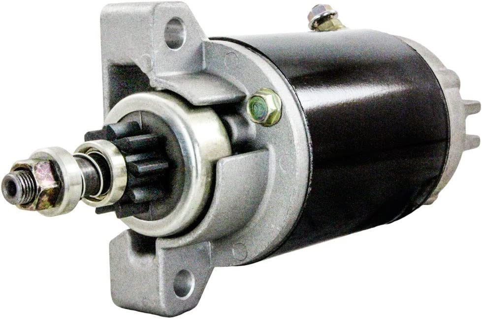 Rareelectrical NEW STARTER COMPATIBLE WITH YAMAHA OUTBOARD F25EH F25ELH F25ELR F25ESH 65W-81800-02 SM67675