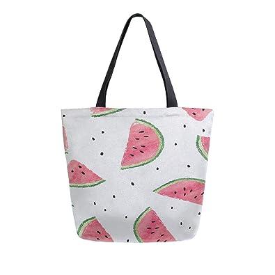 Amazon.com: Watermelon - Bolsas de lona de doble cara ...