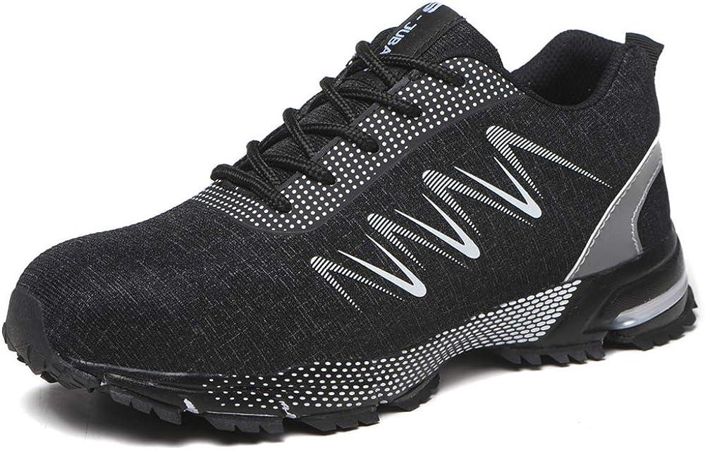 ZOEASHLEY - Zapatillas de seguridad para hombre, ligeras y cómodas, zapatillas de seguridad: Amazon.es: Zapatos y complementos