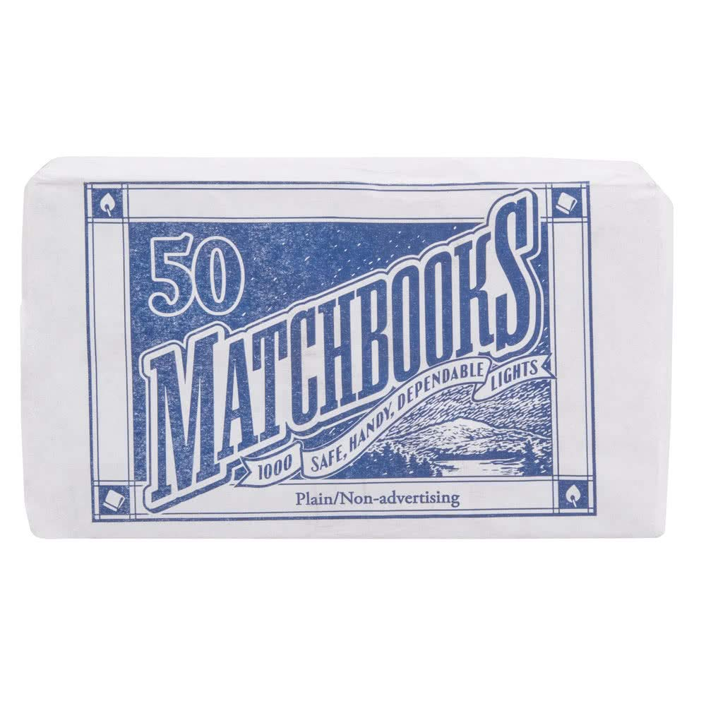 D.D. Bean & Sons 300 Matchbooks (6 Pack of 50 Matchbooks Each)