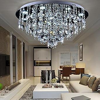 Pendelleuchten Modern Crystal Rain Branch Kronleuchter, Beleuchtung  Embedded LED Deckenleuchte Esszimmer Kronleuchter Badezimmer Schlafzimmer