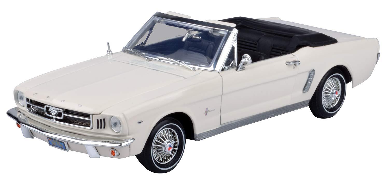 Motormax - 73145R - Véhicule Miniature - Motormax - Ford Mustang 64 1/2 - Cabriolet - Echelle 1:18 73145AC