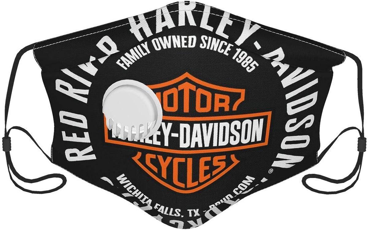Harley Davidson Logo UV Mascarilla,Mascarilla solar facial,Motocicleta Headwear,Bufanda mágica,para pesca,Caza,Correr,Esquí