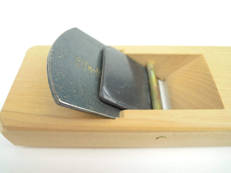 Cepillo de carpintero 40 mm, 2 hojas, fabricado en Jap/ón Senkichi Mini Kanna