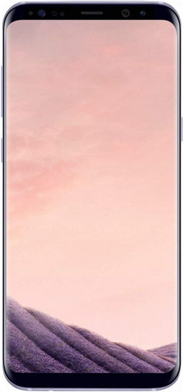 Samsung Galaxy S8+, 64GB, Orchid Gray - Fully Unlocked (Renewed)