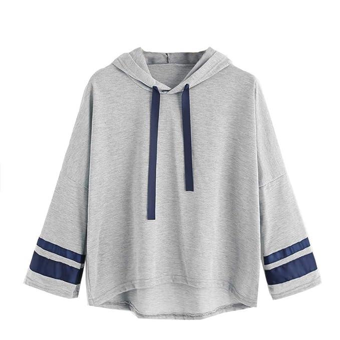 Mujer Sudaderas, ASHOP Blouses For Woman Elegant Polka Dot Modern Sport Hoody Sweatshirt Primavera y Otoño Invierno Sudaderas Top Deporte: Amazon.es: Ropa y ...