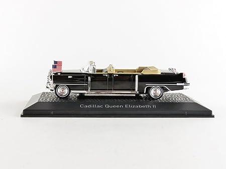 Cadillac Queen Elisabeth II 1956 Limousine Black 1:43 Model NOREV