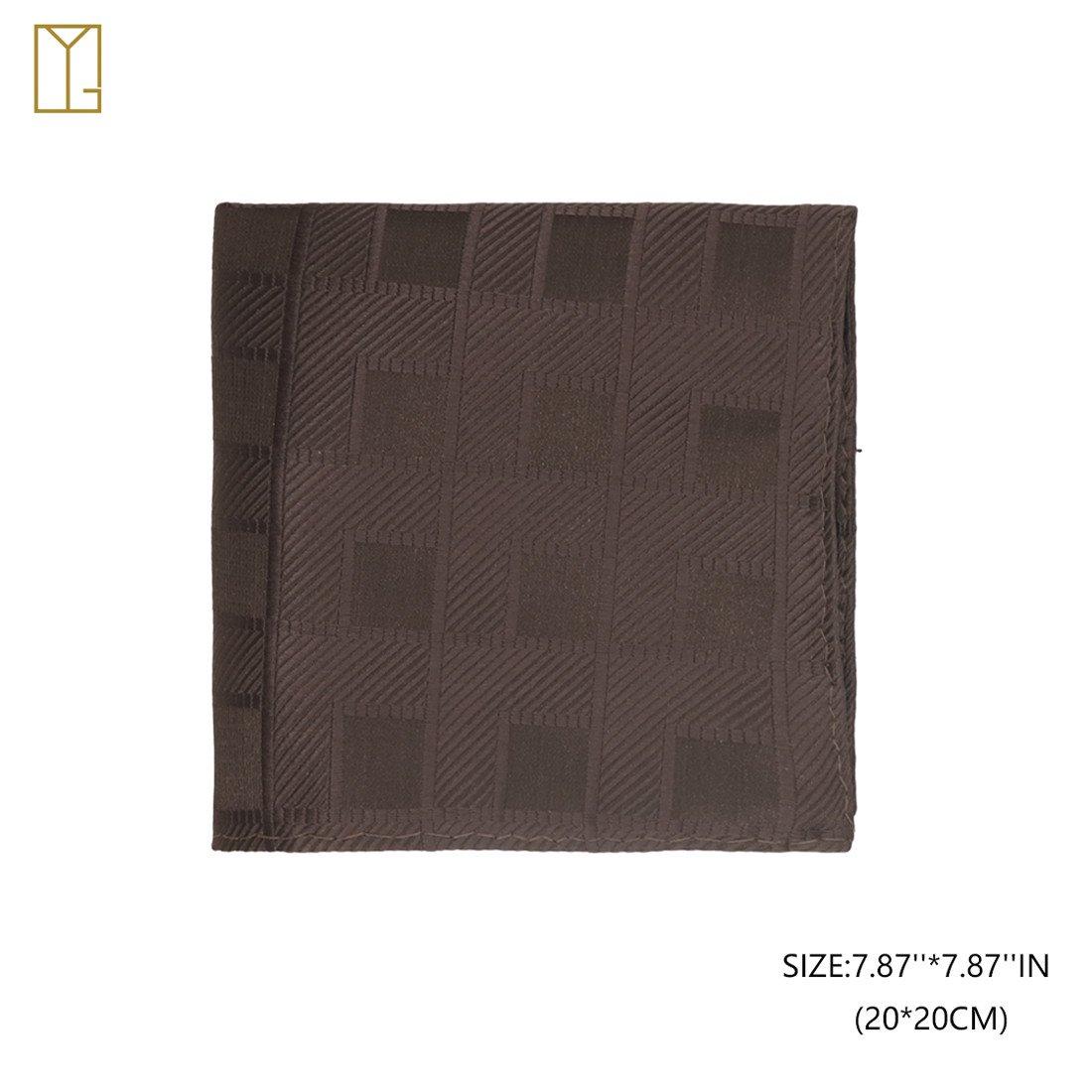 Y/&G YGA1C01 Pretty Plaid Mens Vest Tie Cufflinks Hanky Bowtie Great Goods