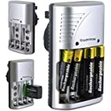 Lloytron Mains Plug Battery Charger For AA AAA or 9v PP3 Ni-Mh Ni-Cd Rechargeable Batteries