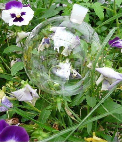 12 Durstkugeln Bewässerungskugeln mit Silikonstopfen 10 cm Gigant Durstkugel Pflanzensitter DKMS