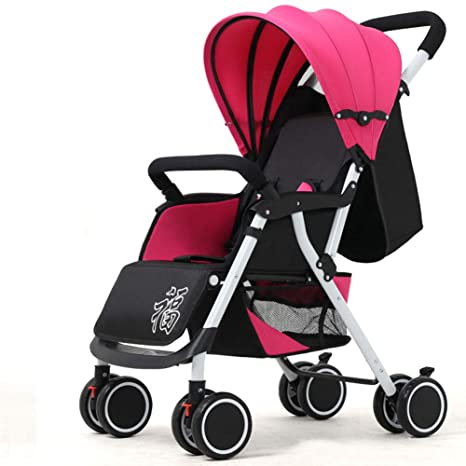 Cochecito de bebé,Plegable Ultraligero Trotar Silla de paseo Conveniente para el avión Rápida carrito