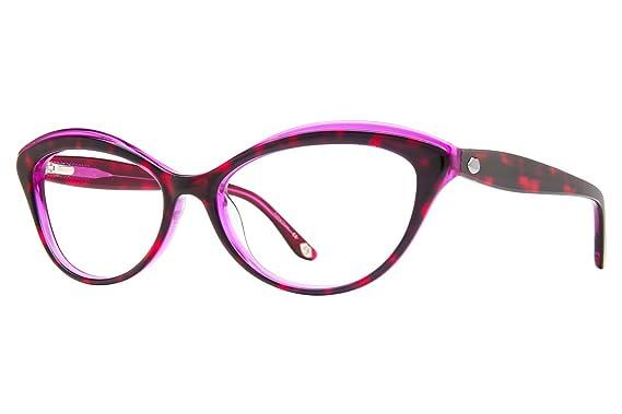 8a681d6eccc Amazon.com  Lulu Guinness L881 Womens Eyeglass Frames - Purple  Clothing