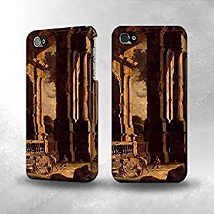 Apple iPhone 5 / 5S Case - The Best 3D Full Wrap iPhone Case - A Capriccio Of Classical Ruins