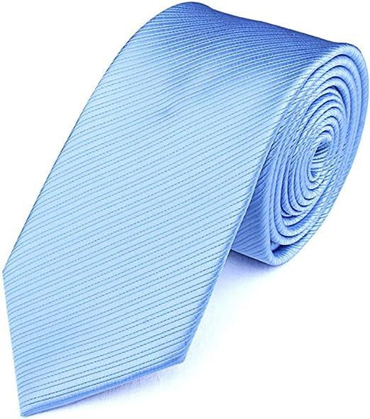 JINGJING Corbata de los Hombres Color sólido Tejido Jacquard de ...