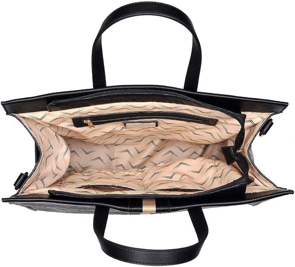 Assorted Colors Handbag Moda Luxe Womens Stylish Julian Tote