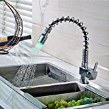 Furesnts Modern home kitchen and Bathroom Sink Taps European Retro All Copper Hot And Cold Kitchen Sink Basin Faucet Taps,(Standard G 1/2 universal hose ports)