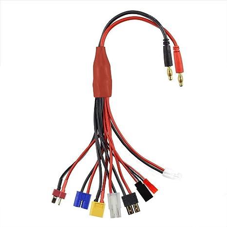 XT60 to T Dean Stecker Konvertierung Stecker für Akku /& Ladegerät X