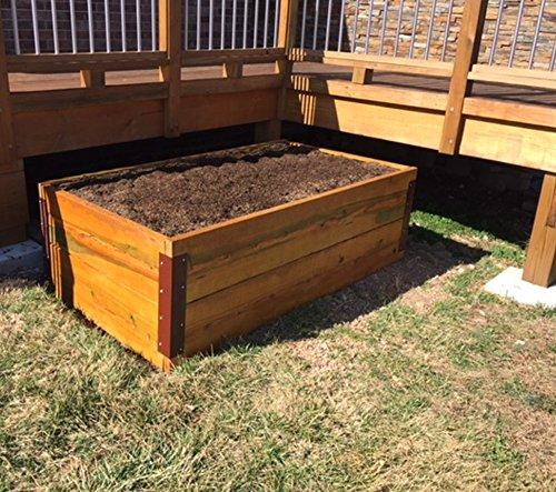 Garden Bed Corner Bracket - for 20-24'' Bed by RMP (Image #1)