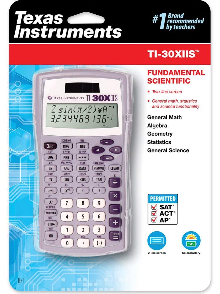 Texas Instruments TI-30X IIS 2-Line Scientific Calculator, Lavender by Texas Instruments