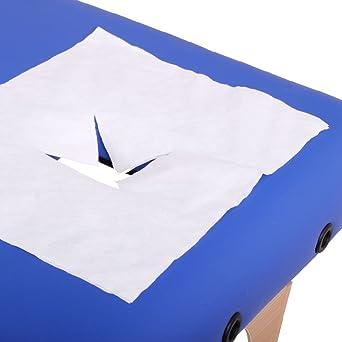 Promafit - Toallitas higiénicas para hueco de la cara de camilla de masaje (100 unidades