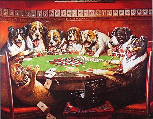 Dogs Playing Poker Metal Tin (Dogs Playing Poker)