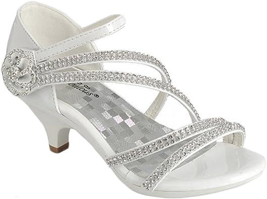Fabulous Little Girls White Silver Gold