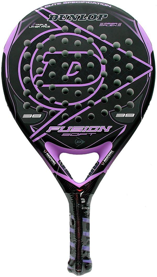 Dunlop Fusion Soft - Pala de padel - color morado: Amazon.es: Deportes y aire libre