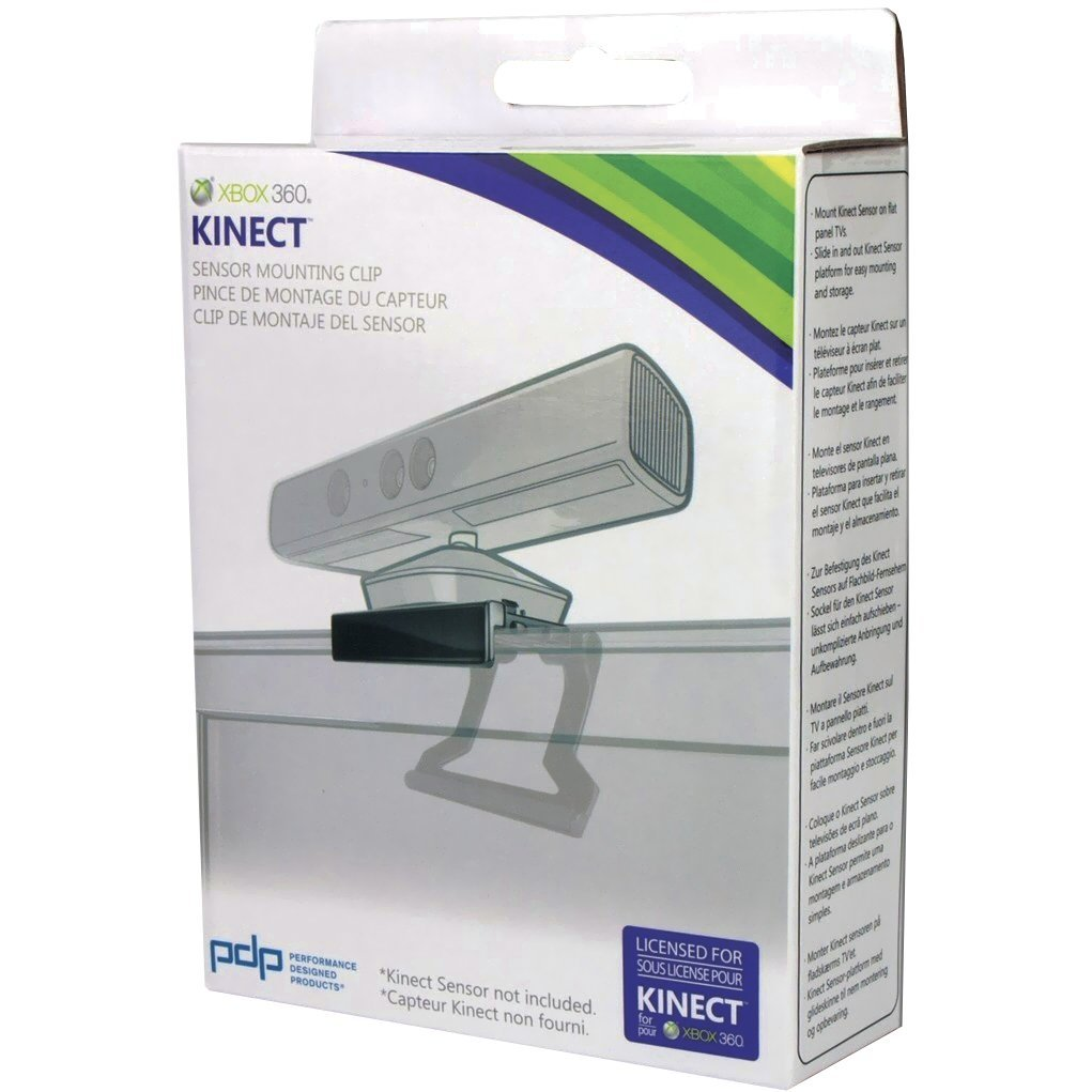 Kinect Sensor TV Mounting Clip - Xbox 360 by PDP