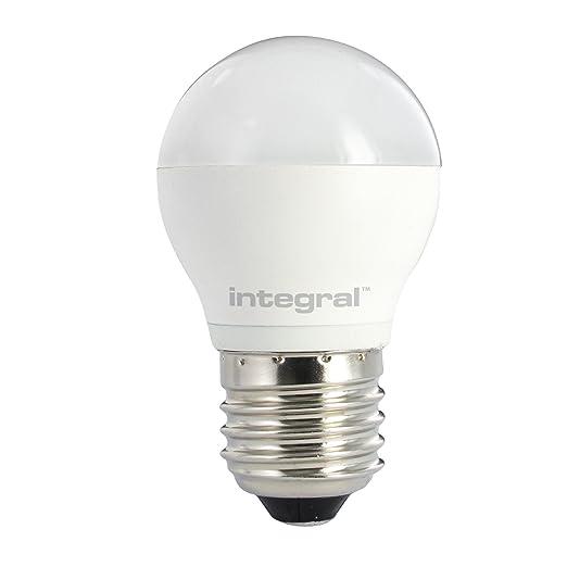 Integral LED ILP45E27O4.6N03KADMA Mini Globe Golfball - Bombilla LED (intensidad no regulable,