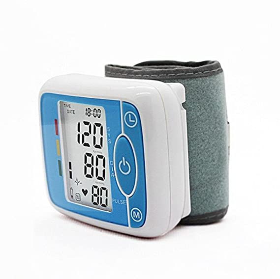 WAOBE Grado Médico Automático Tipo de Brazo Superior Medidor Automático de Presión Arterial LCD Digital Hogar Impulso Inteligente Vigilancia Exacta de la ...