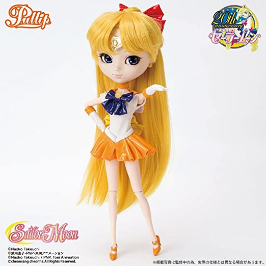 Amazon.com: Sailor Moon Pullip Doll: Sailor Venus: Toys & Games