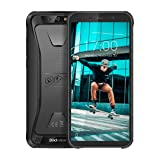 Blackview BV5500 pro 4G LTE Rugged Cell Phone Unlocked IP68 Waterproof Outdoor Smartphone,4400mAh Battery 3+16GB Android 9 Mobile Phones 5.5inches MT6739 Dual SIM/NFC/GPS/GLONASS AT&T/T-Mobile Black (Color: Black)