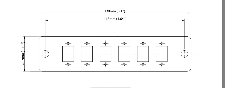 12 Fiber Ports LGX Compatible Fiber Patch Panel SpeedyFiberTX 6 Singlemode Blue Duplex LC Adapters
