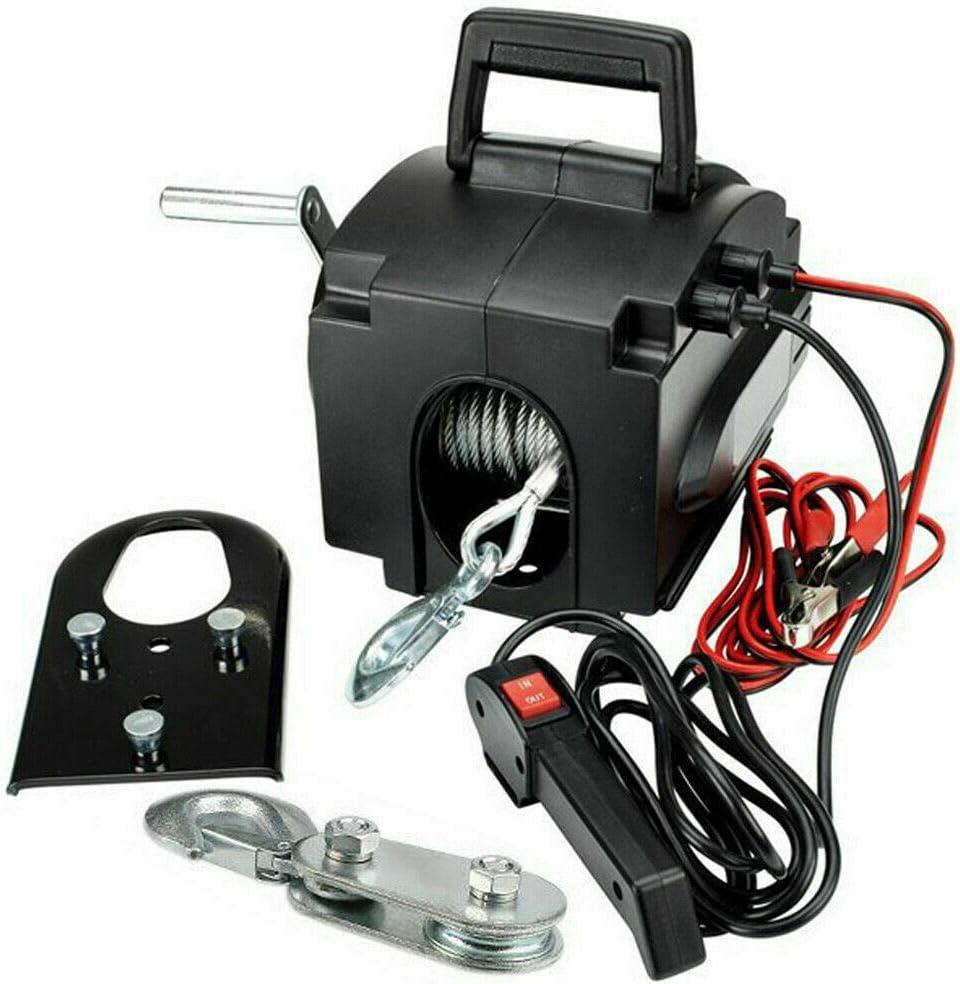 OUKANING Cabrestante eléctrico Motor Cabrestante Cabrestante Cabrestante Cabrestante Cabrestante 12 voltios