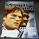 Books : Sports Illustrated, September 20, 2010-Tom Brady, New England Patriot's quarterback on cover.